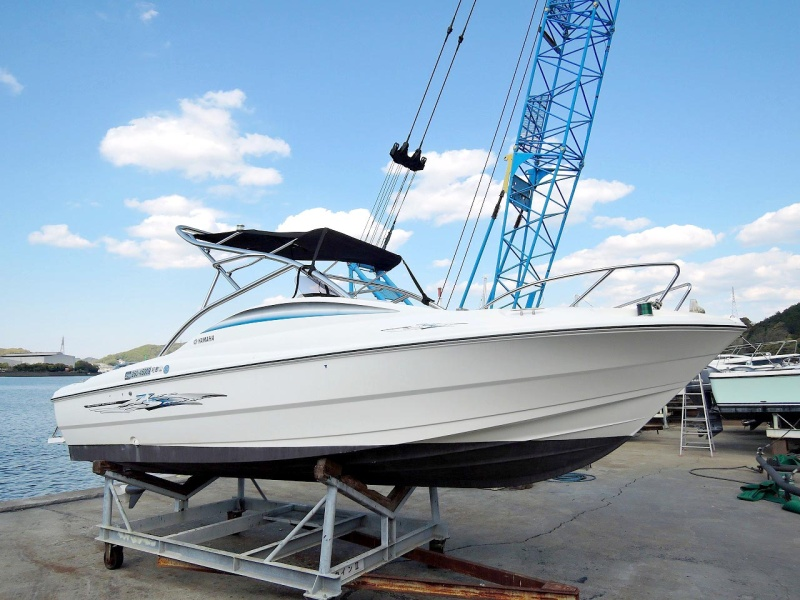 中古艇・中古ボートのボートワールドは中古艇情報をリアルタイムに掲載! 中古艇情報ヤマハ AS-21 船体磨き&エンジン整備済み